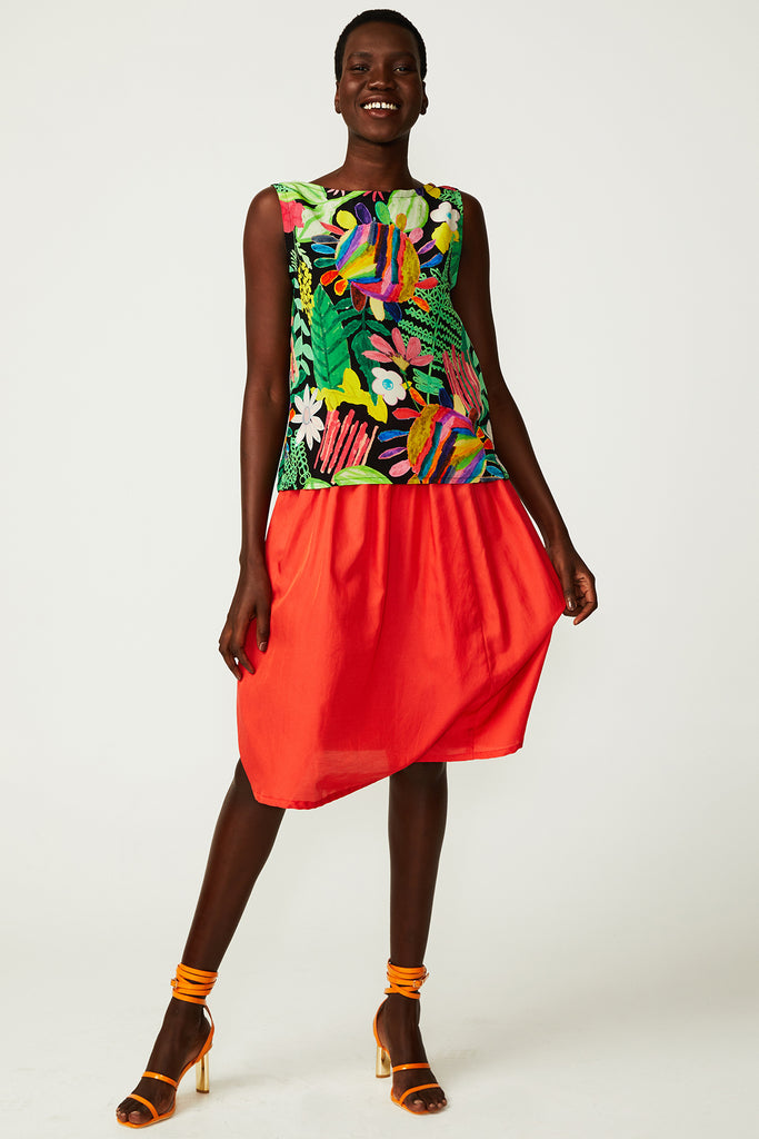 Poppy Gathered Skirt (was $199)