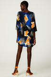 Topographic Bloom Shift Dress (was $349)