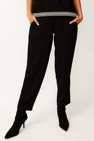 Black Leisure Pants