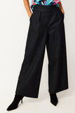 Dark Denim Wide Leg Pants