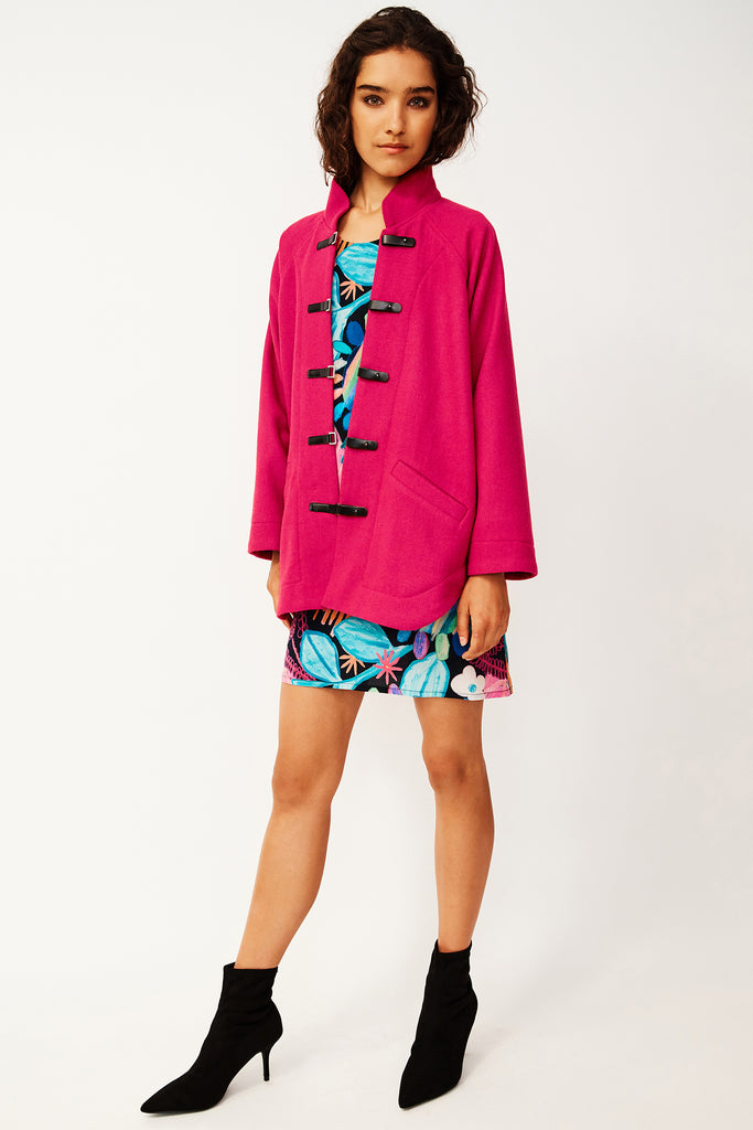Pink Anorak Coat (was $359)