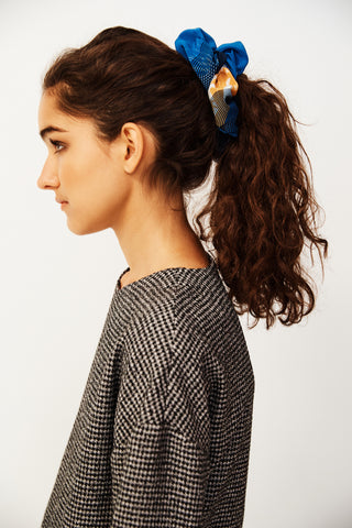 Topographic Bloom Big Scrunchie