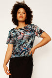 Smoking Mirror Remix Short Sleeve Top