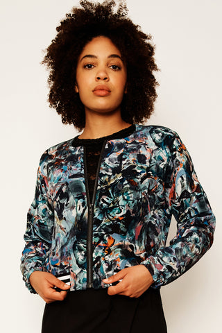 Smoking Mirror Remix Batwing Jacket