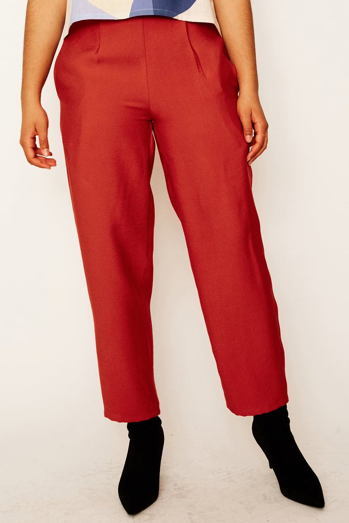 Rust Leisure Pants (was $169)