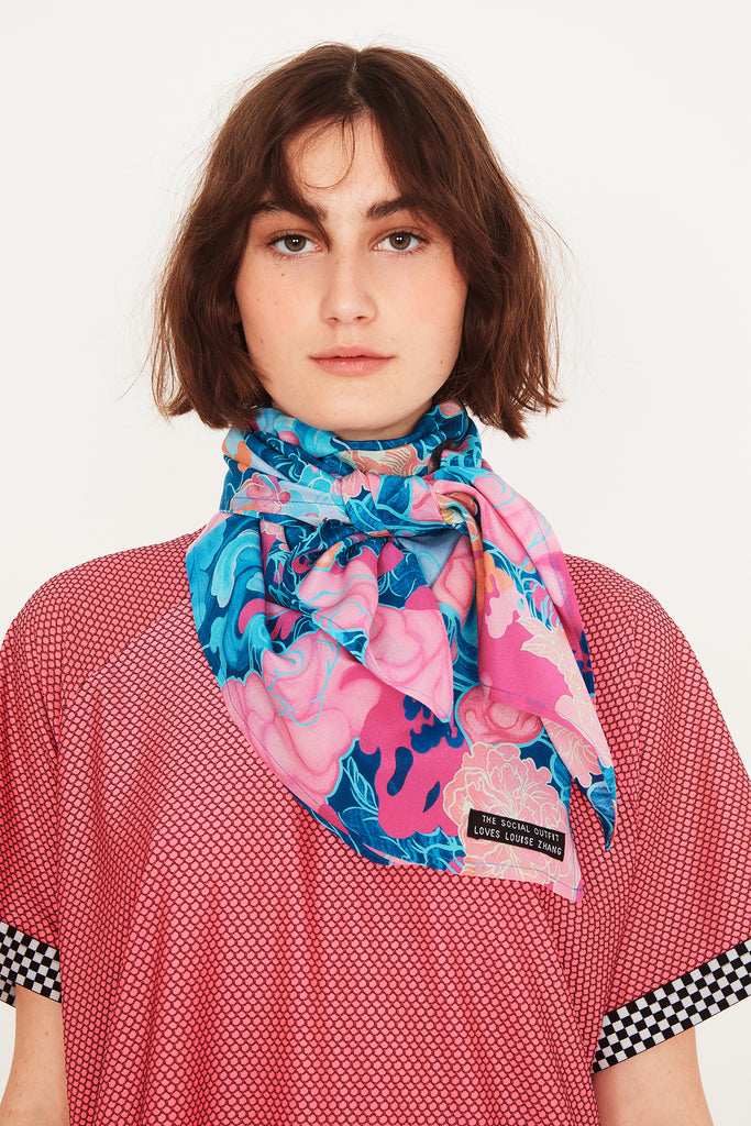 Louise Zhang Square Scarf