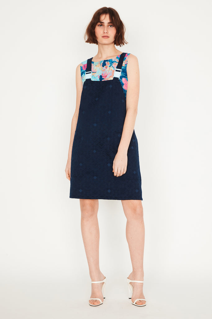 Sapphire Pinafore (with buckles)