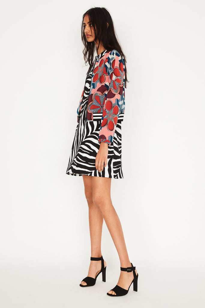 Jungle A-Line Dress