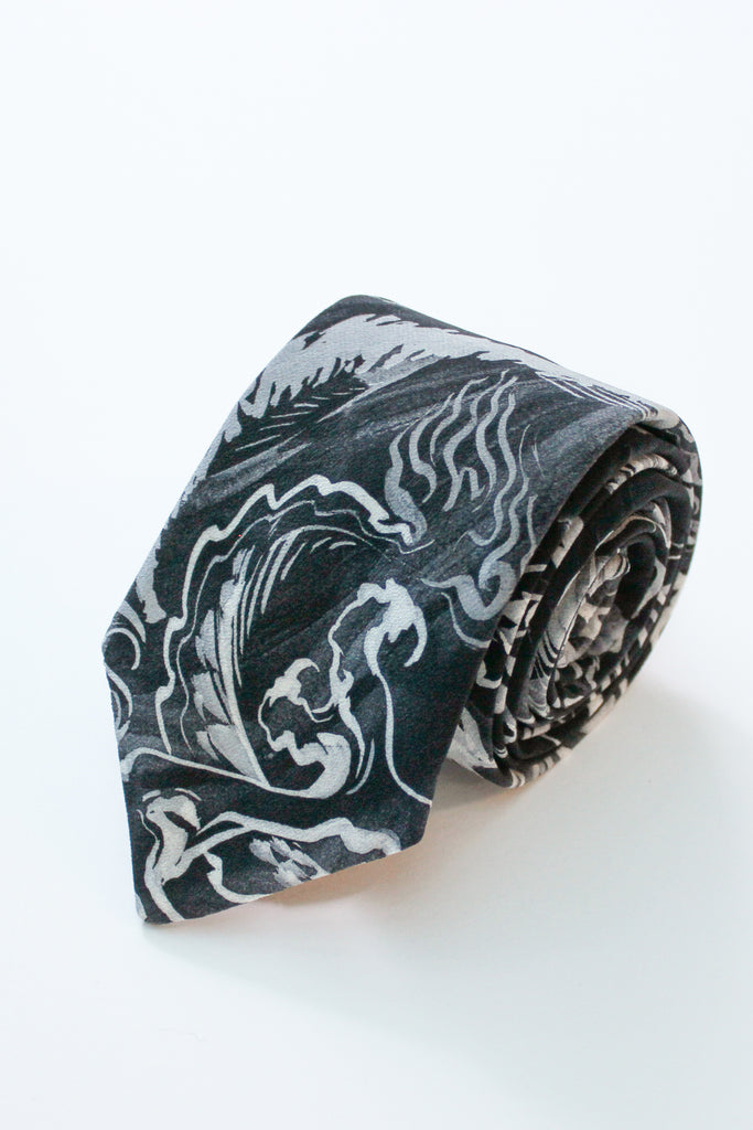 The Social Outfit's Dragons Silk Tie