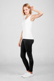 Dorsu White Fitted Tank (was $39)