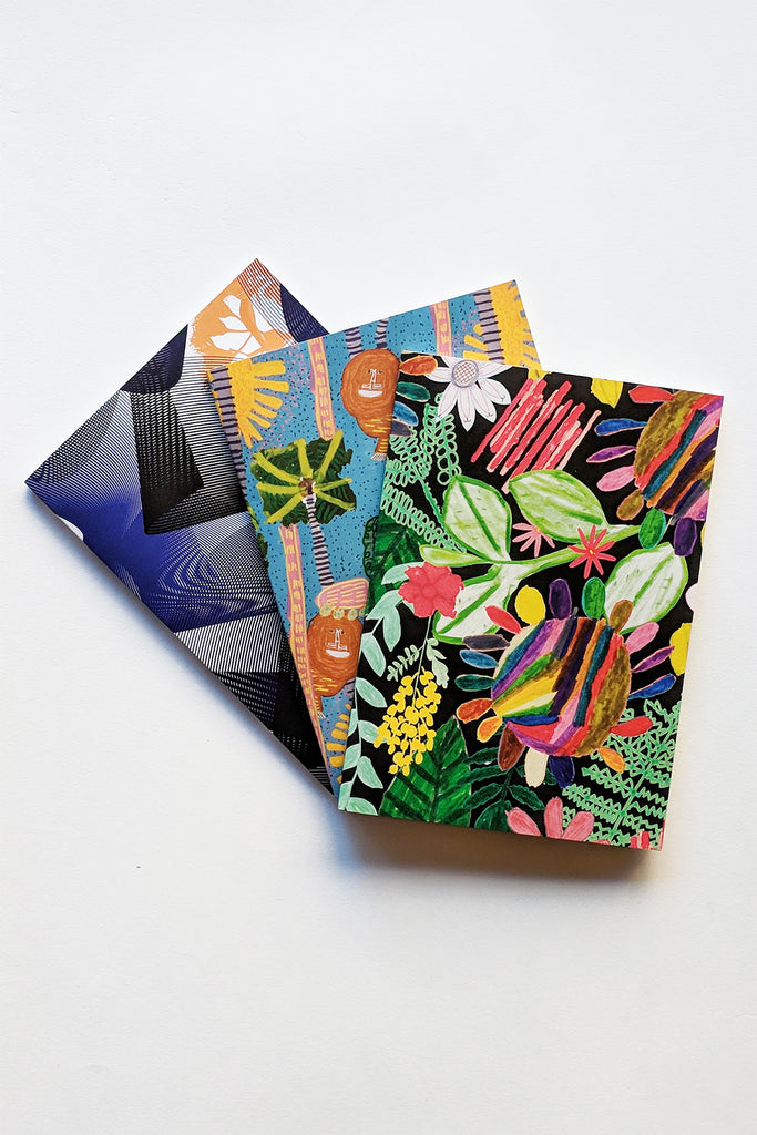 King Botanic Notebook Triple Pack