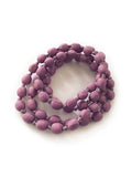 Berry Silk Single Strand Necklace