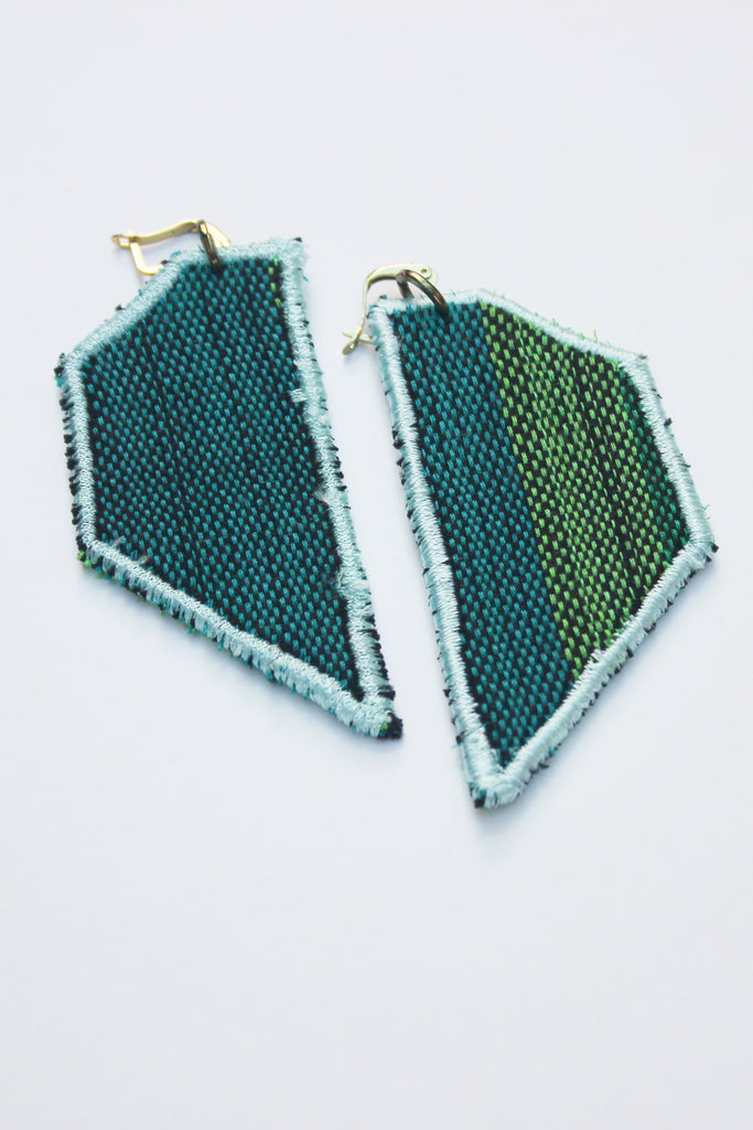 Style Isle Forest Woven Wing Earrings