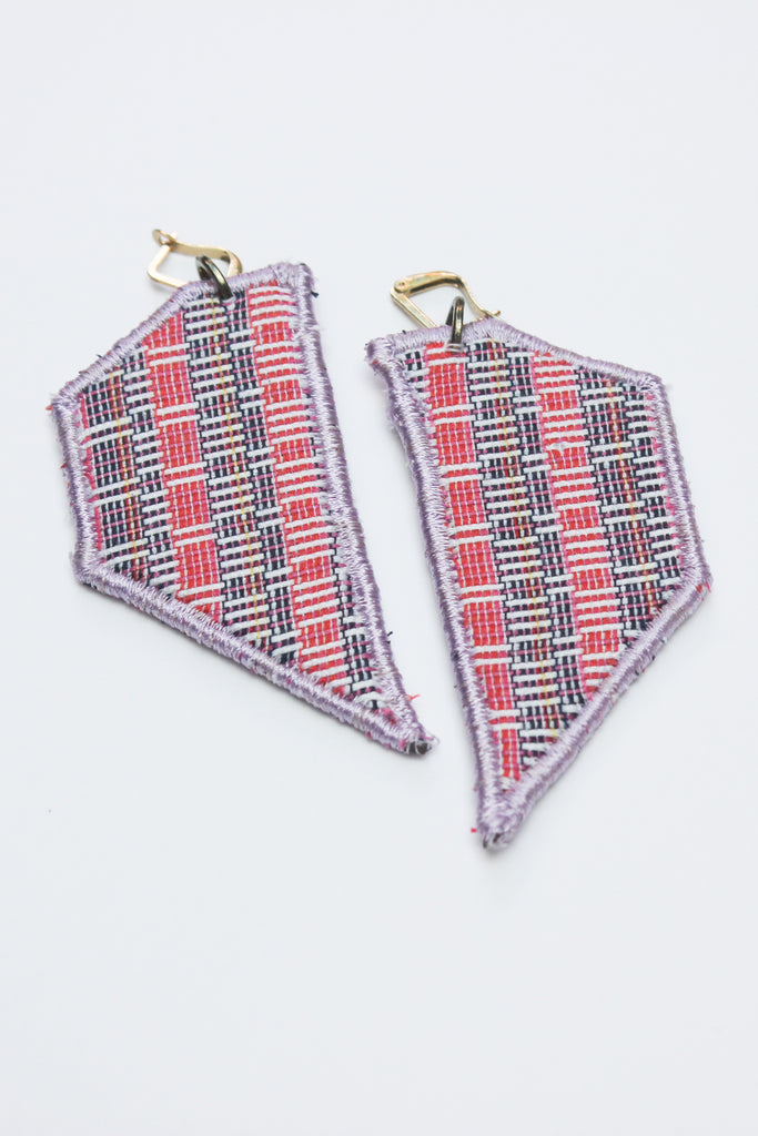 Style Isle Sunset Woven Wing Earrings