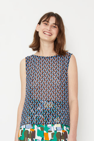 Tessellating Dream Shell Top