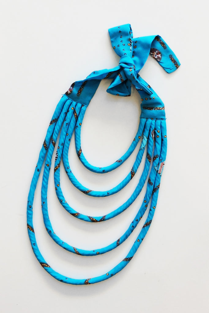 WEFTshop x The Social Outfit Dragstar Blue Ya Ta Kon Necklace