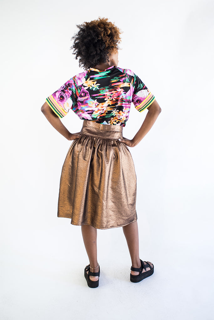 Bronze 80s Skirt (was $249)