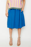 Cerulean Gathered Skirt