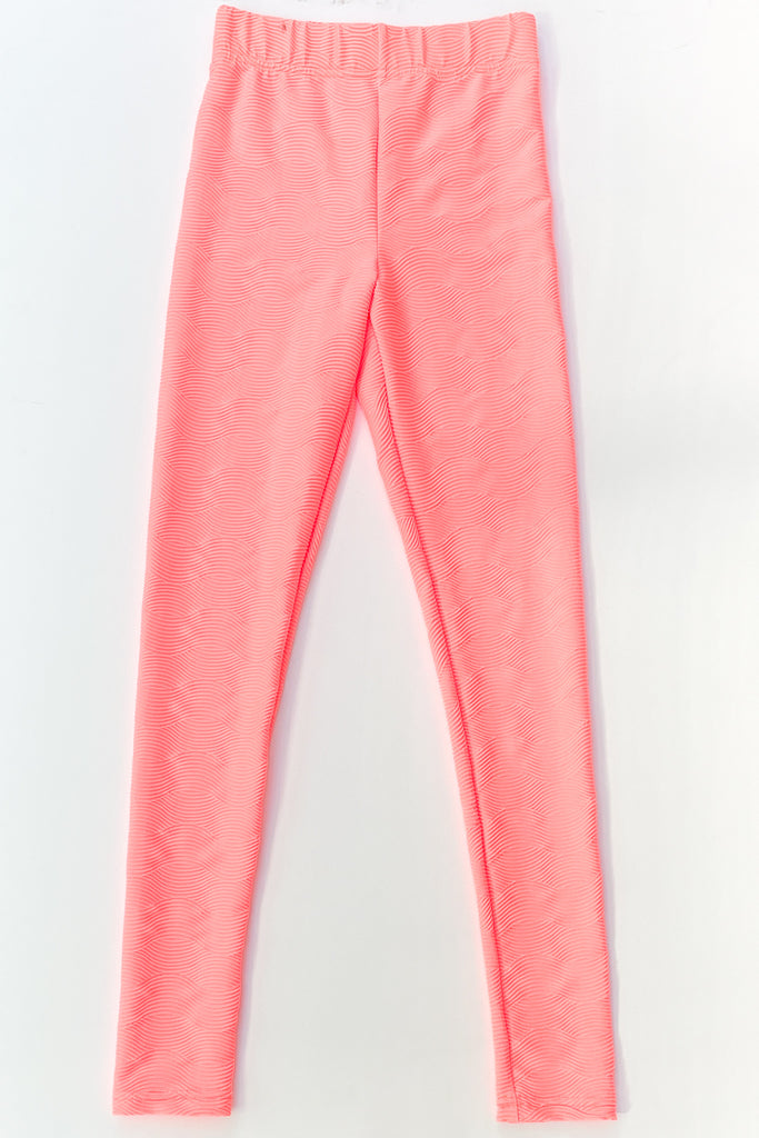 Pink  Wave Leggings