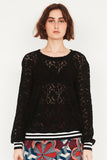 Midnight Lace Sports Blouse