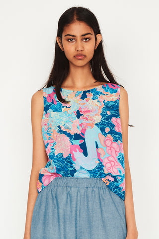 Louise Zhang Shell Top