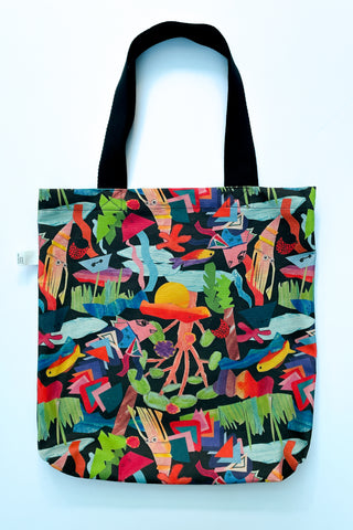 limited edition fairfield print tote bag