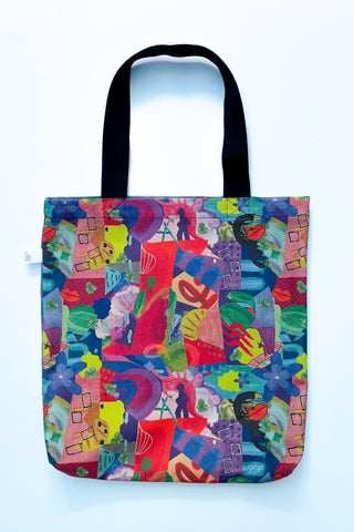 limited edition heirloom print tote bag