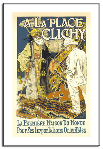 A la Place Clichy - 1902 - Vintage French Advertising Print-Poster-Elysiumprints