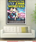 Attack Of The Crab Monsters SciFi Movie Poster - 1957-Poster-Elysiumprints