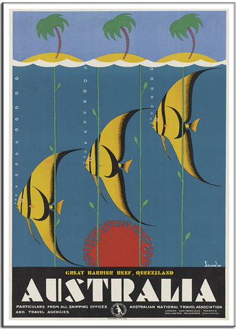 AUSTRALIA, GREAT BARRIER REEF, QUEENSLAND by Gert Sellheim Australia 1937-Poster-Elysiumprints