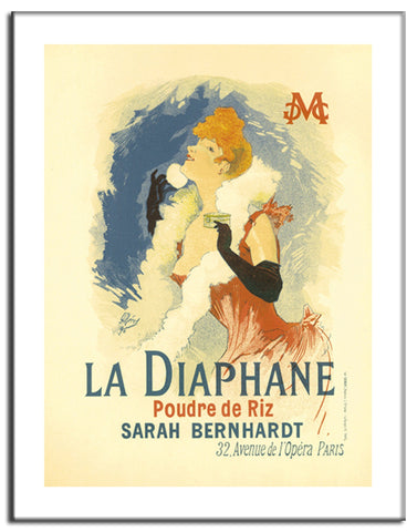 Diaphane - 1902 - Vintage French Advertising Print-Poster-Elysiumprints