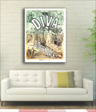 Diva - 1868 - Vintage French Advertising Print-Poster-Elysiumprints