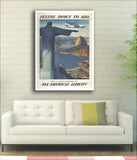 FLYING DOWN TO RIO - Pan American - 1930 - Vintage Airline Poster-Poster-Elysiumprints