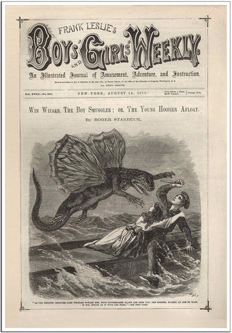 Frank Leslie - Boys and Girls Weekly Comic Cover 1875-Poster-Elysiumprints
