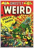 Ghostly Weird Stories Death Ship Comic Book Cover-Poster-Elysiumprints