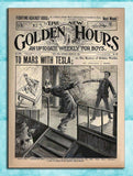 Golden Hours - To Mars With Tesla Comic Cover 1901-Poster-Elysiumprints