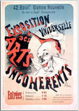 Incoherents - 1889 - Vintage French Advertising Print-Poster-Elysiumprints