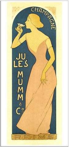 Mumm - 1902 - Vintage French Advertising Print-Poster-Elysiumprints