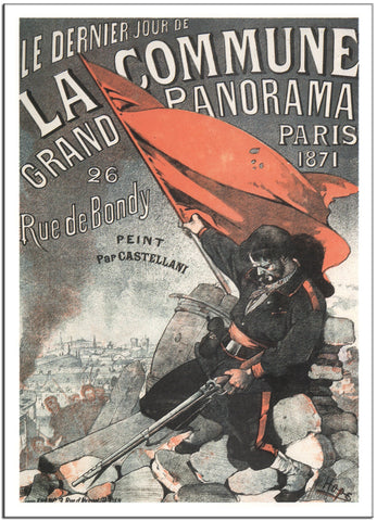 THE LAST DAY OF THE COMMUNE by Leon Choubrac 1883 France Vintage Poster-Poster-Elysiumprints