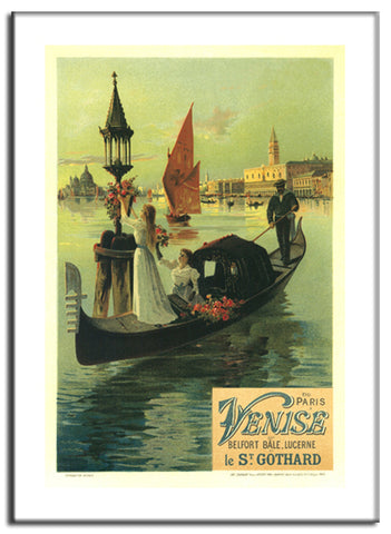 Venise - 1902 - Vintage French Advertising Print-Poster-Elysiumprints
