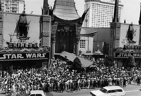 Star Wars world premiere.  A pivotal moment in my life as a human, and a t-shirt designer.