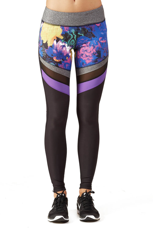 Ki Pro Women's Multi Floral Performance Legging