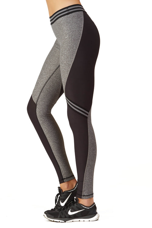 Color Block Performance Racing Legging