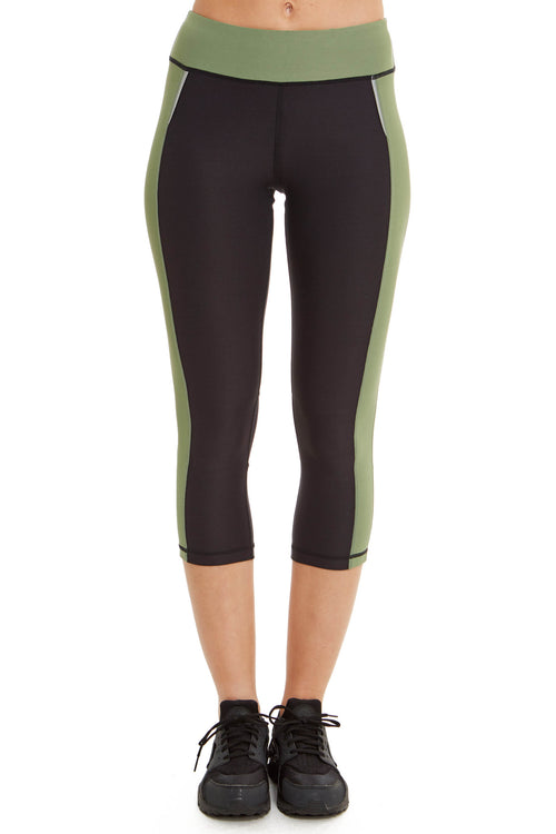 Performance Capri with Mesh Leg