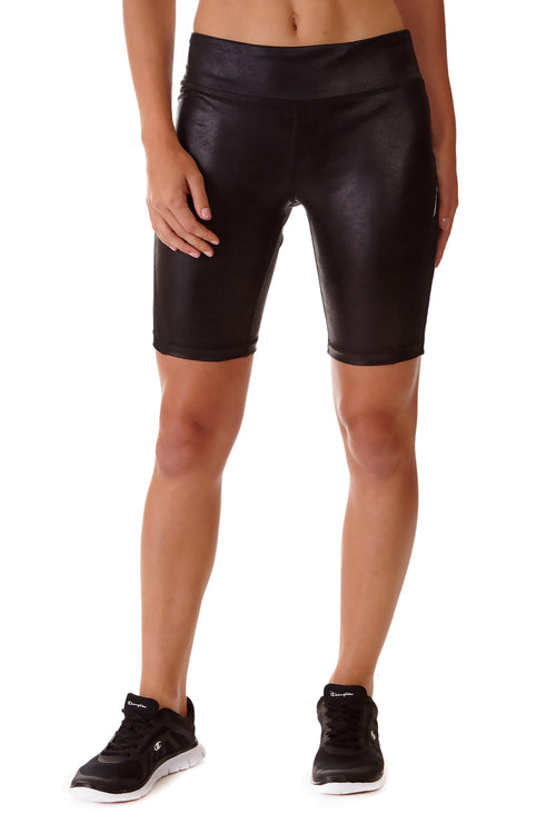 Performance Shorts - DISTRESSED LEATHER