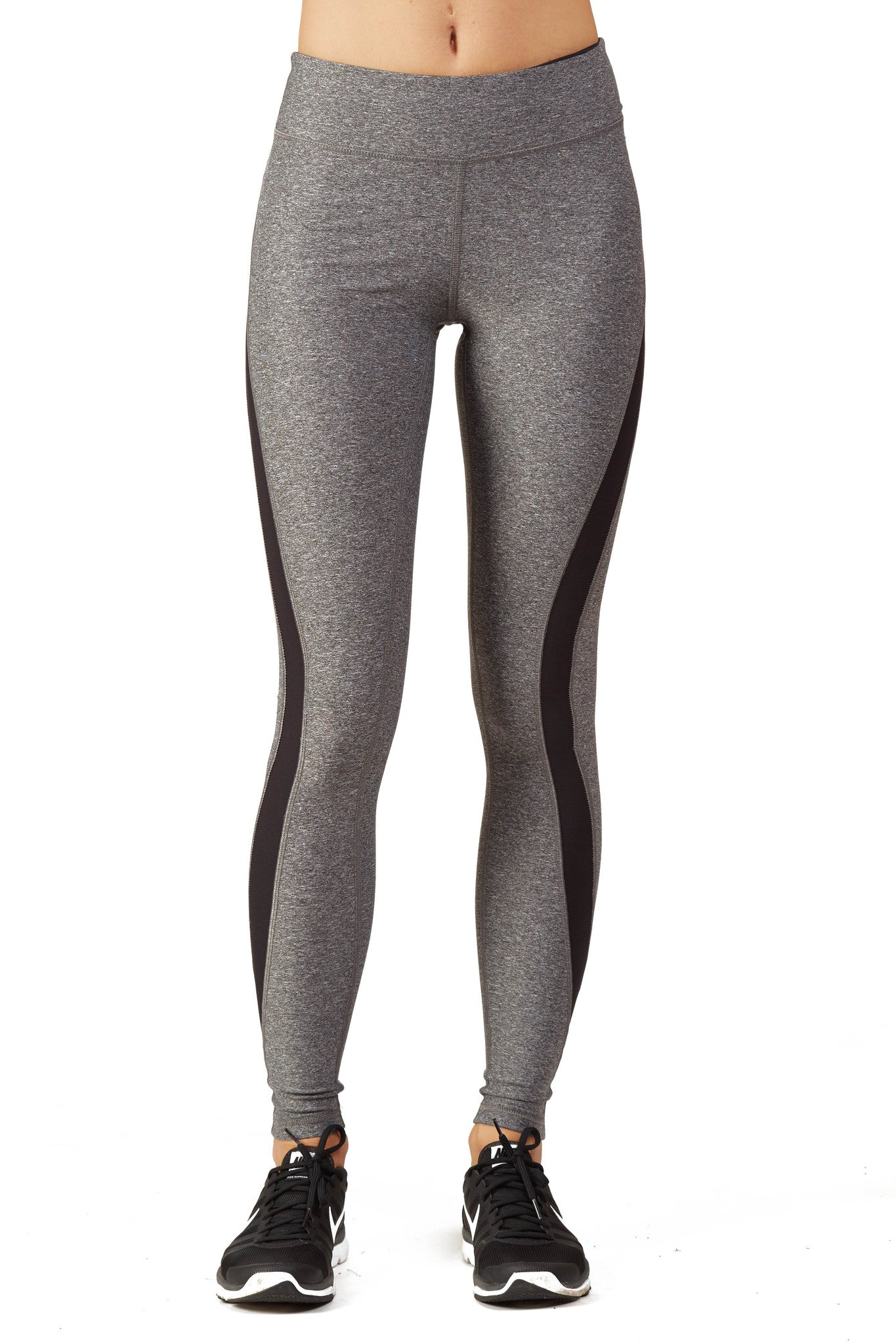 Heather Color Blocked Performance Legging