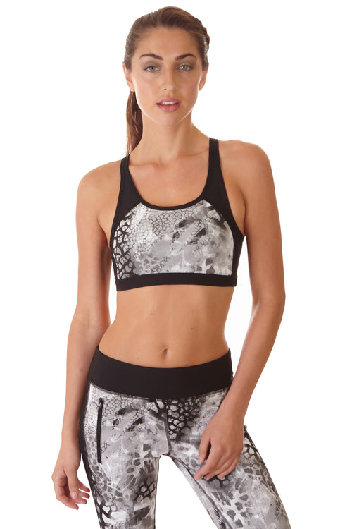 Ki Pro Women's Rooted Print Sports Bra