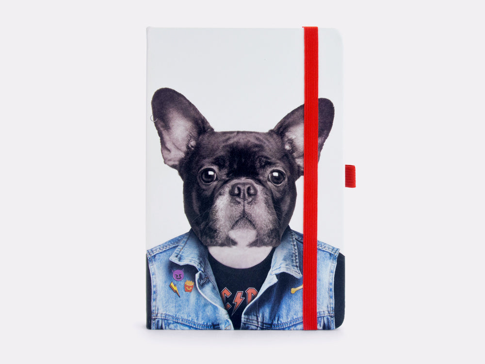toyhood store's dog notebook by mustard