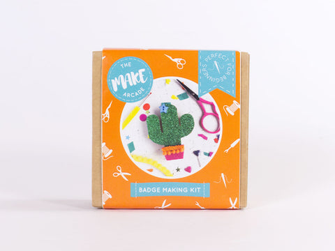 Cactus Badge Making Kit