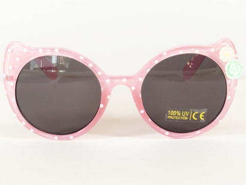 Spotty Pink Cat Sunglasses